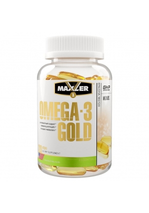 Omega-3 Gold USA 120 капс (Maxler)