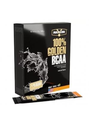 100% Golden BCAA 15 шт 7 гр (Maxler)