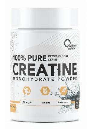100% Pure Creatine Monohydrate 500 грамм (Optimum System)