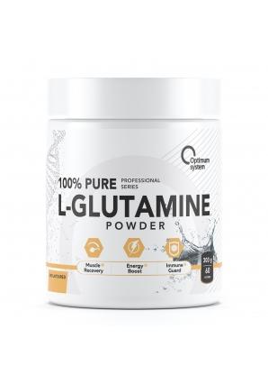 100% Pure Glutamine Powder 300 грамм (Optimum System)