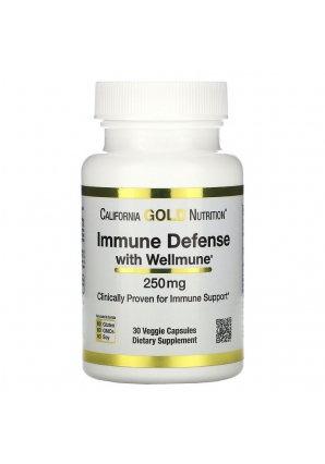 Immune Defense with Wellmune 250 мг 30 капс (California Gold Nutrition)