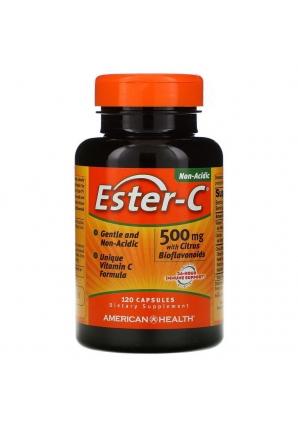 Ester-C 500 мг 120 капс (American Health)