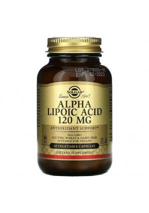 Alpha Lipoic Acid 120 мг 60 капс (Solgar)