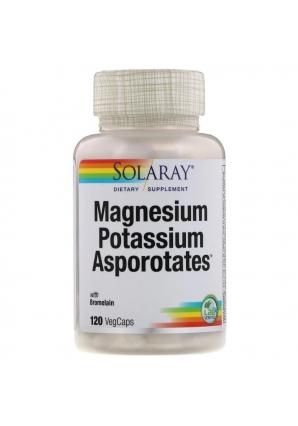 Magnesium Potassium Asporotates 120 капс (Solaray)