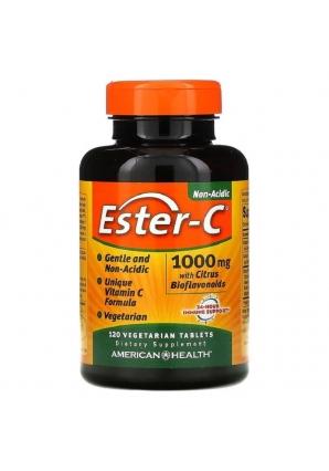 Ester-C with Citrus Bioflavonoids 1000 мг 120 вег.табл (American Health)