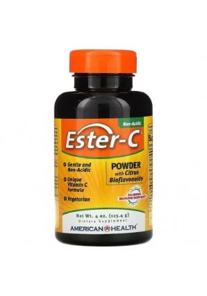 Ester-C Powder with Citrus Bioflavonoids 113,4 гр (American Health)