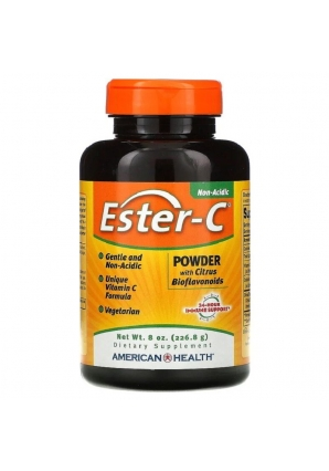 Ester-C Powder with Citrus Bioflavonoids 226,8 гр (American Health)