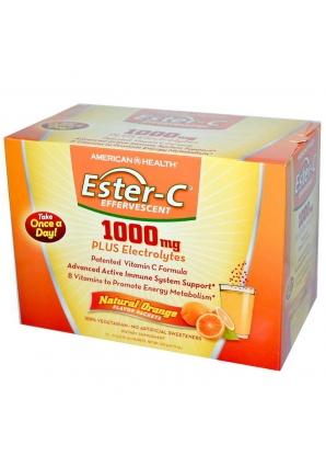 Ester-C Effervescent 1000 мг 21 пак 10 гр (American Health)