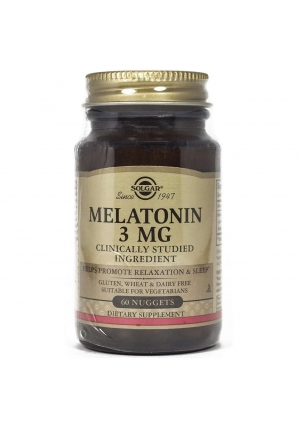 Melatonin 3 мг 60 жев.табл. (Solgar)