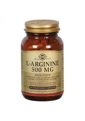 L-Arginine 500 мг 100 капс (Solgar)