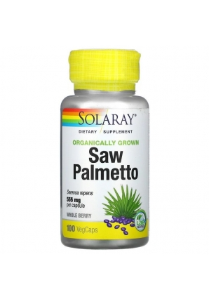 Saw Palmetto 555 мг 100 капс (Solaray)