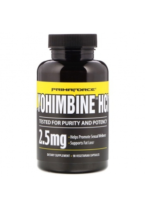 Yohimbine HCl 2,5 мг 90 капс (PrimaForce)