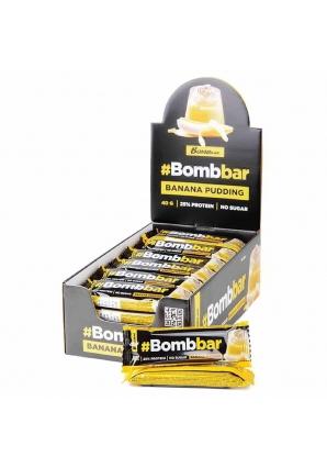 Протеиновый батончик Bombbar в шоколаде 30 шт 40 гр (BomBBar)