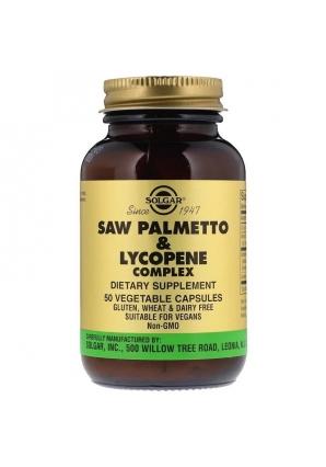 Saw Palmetto & Lycopene Complex 50 капс (Solgar)