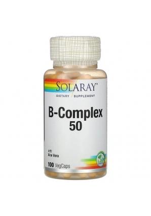 B-Complex 50 - 100 капс (Solaray)