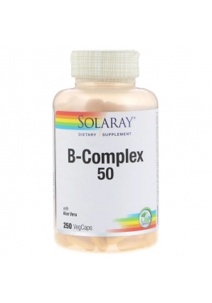 B-Complex 50 - 250 капс (Solaray)