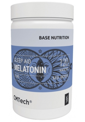 Melatonin 5 мл 120 капсул (CM Tech)
