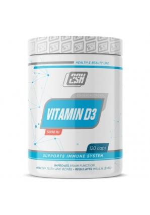 Vitamin D3 5000IU 120 капс (2SN)