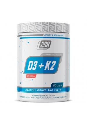 Vitamin D3+K2 + Calcium 90 капс (2SN)