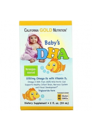 Baby's DHA 59 мл (California Gold Nutrition)