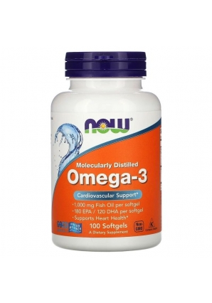 Omega-3 1000 мг 100 капс (NOW)