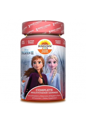 Complete Multivitamin Gummies Disney Frozen II 60 жев. конфет (Sundown Nutrition)