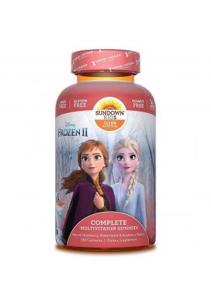 Complete Multivitamin Gummies Disney Frozen II 180 жев. конфет (Sundown Nutrition)