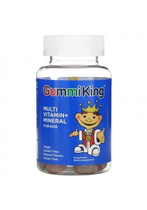 Multi Vitamin + Mineral for Kids 60 жев. конфет (GummiKing)