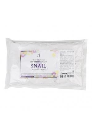 Маска альгинатная с муцином улитки Snail Modeling Mask 240 гр (Anskin)