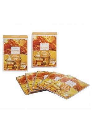 Набор тканевых масок Color Synergy Effect Sheet Mask Yellow 20 мл 25 шт (Deoproce)