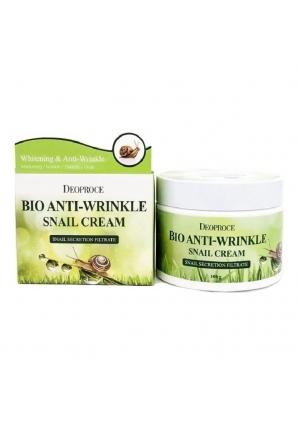 Био-крем против морщин с экстрактом улитки Bio Anti-Wrinkle Snail Cream 100 гр (Deoproce)
