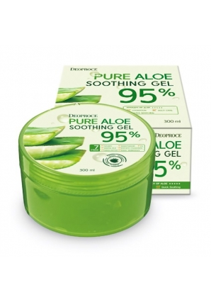 Гель для лица и тела с алоэ Pure Aloe Soothing Gel 95% 300 мл (Deoproce)