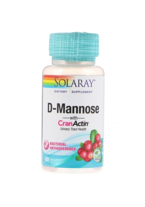 D-Mannose with CranActin Urinary Tract Health 60 капс (NOW)
