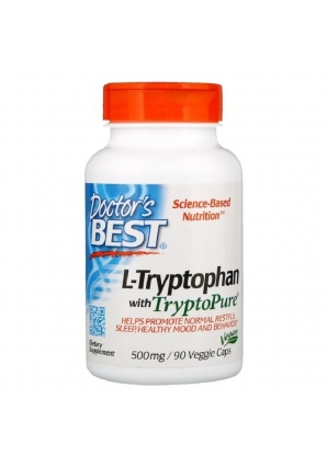 L-Tryptophan with TryptoPure 500 мг 100 капс (Doctor's Best)