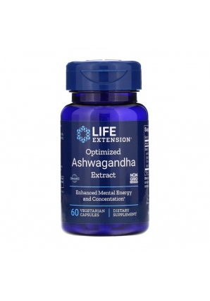 Optimized Ashwagandha Extract 60 капс (Life Extension)