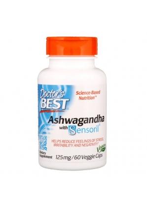 Ashwagandha with Sensoril 125 мг 60 капс (Doctor's Best)