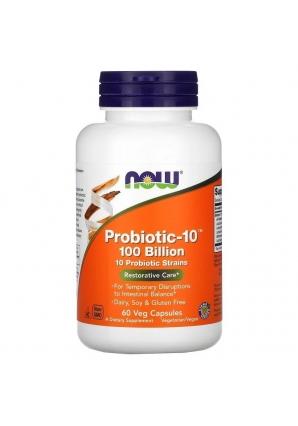 Probiotic-10 100 Billion 60 капс (NOW)