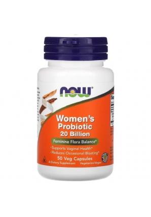 Women's Probiotic 20 Billion 50 капс (NOW)