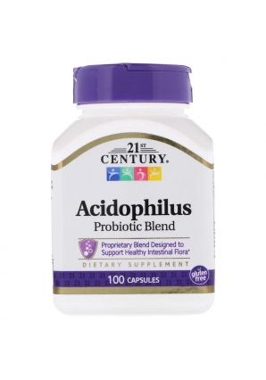 Acidophilus Probiotic Blend 100 капс (21st Century)