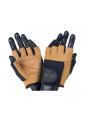Перчатки Fitness MFG444 черно-коричневые (Mad Max)