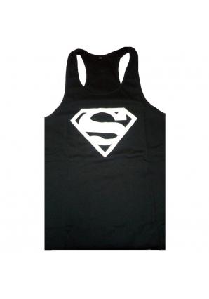 Спортивная майка, черная (Superman)