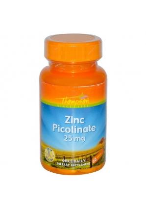 Zinc Picolinate 25 мг 60 табл (Thompson)