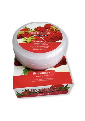 Крем с экстрактом клубники Natural Skin Strawberry Nourishing Cream 100 гр (Deoproce)