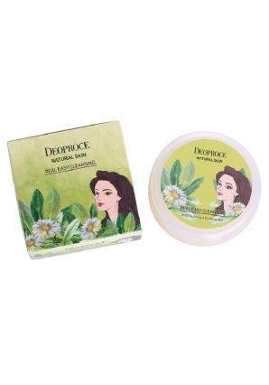 Очищающий крем для лица Natural Skin Real Easy Cleansing 100 гр (Deoproce)