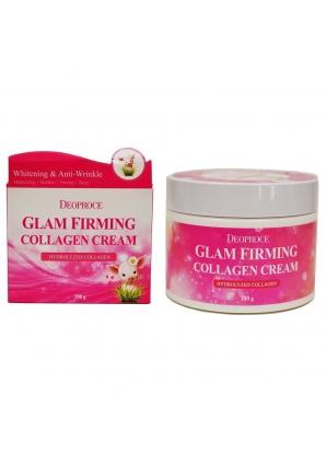 Подтягивающий крем для лица с коллагеном Glam Firming Collagen Cream 100 гр (Deoproce)