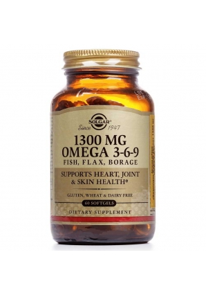Omega 3-6-9 1300 мг 60 капс (Solgar)