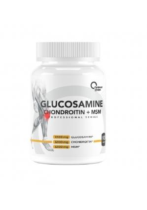 Glucosamine Chondroitin + MSM 90 табл (Optimum System)