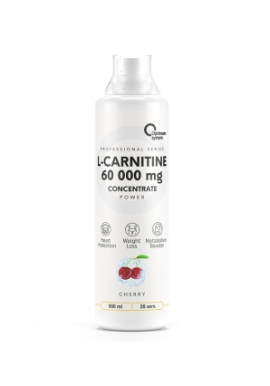 L-Carnitine Concentrate 60 000 Power 500 мл (Optimum System)