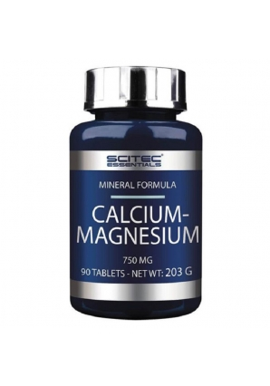 Calcium-Magnesium 750 мг 90 табл (Scitec Nutrition)