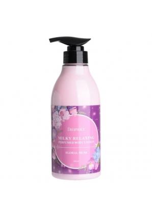 Лосьон для тела Milky Relaxing Perfumed Body Lotion Floral Musk 500 мл (Deoproce)